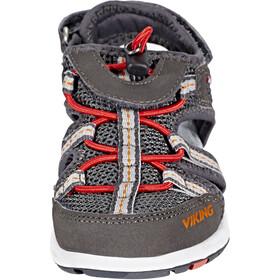 Viking Footwear Thrill Sandals Kids charcoal/red